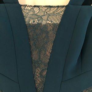 Pleated BCBG dress